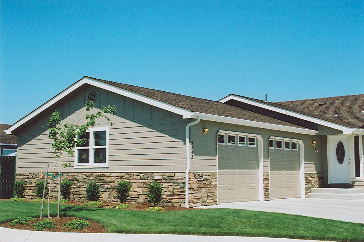 Gooden harrison specialists in manufactured home for Modular homes with garages